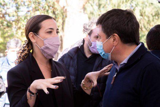 Florencia Tizio y Daniel Arroyo presentaron la Canasta Ahorro