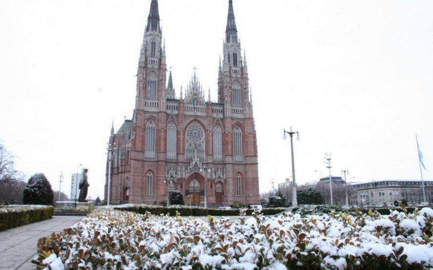 ¿Nieve en La Plata