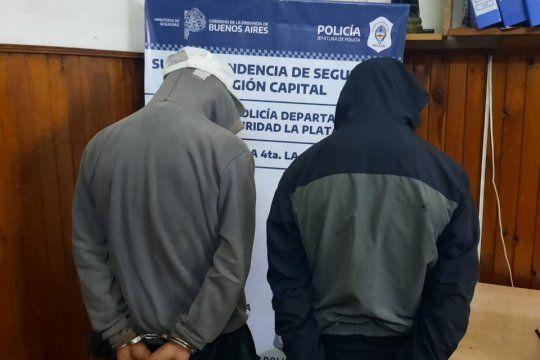 Los dos detenidos tienen 15 y 21 años