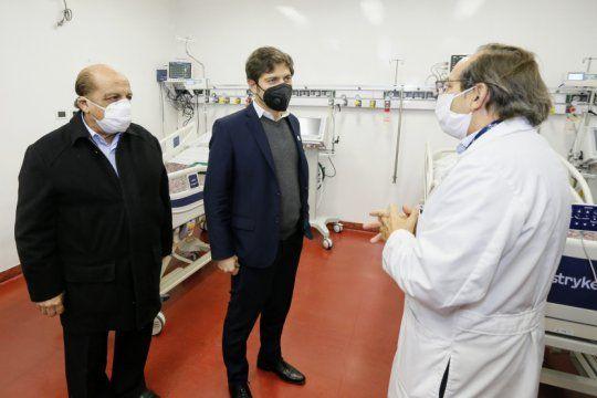 tras dos anos de obras paralizadas, la provincia inauguro la terapia intensiva del evita pueblo