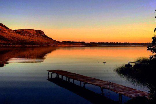 La laguna La Brava es uno de los atractivos naturales más importantes de Balcarce