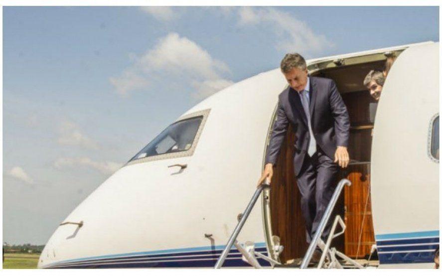 A la peluquería en helicóptero: Denuncian que Macri usó la aeronave oficial para ir a cortarse el pelo