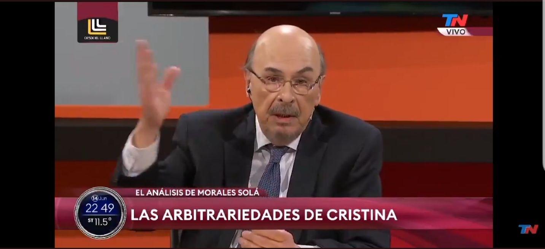 Morales Solá apuntó directamente a La Cámpora como quienes manejarán las prepagas en un hipotético sistema de salud unificado, tal como propuso Cristina Kirchner