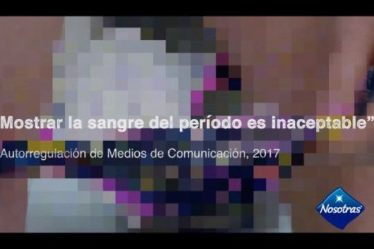 gabriela cerruti opino sobre la nueva publicidad de toallitas: ?la menstruacion es normal?