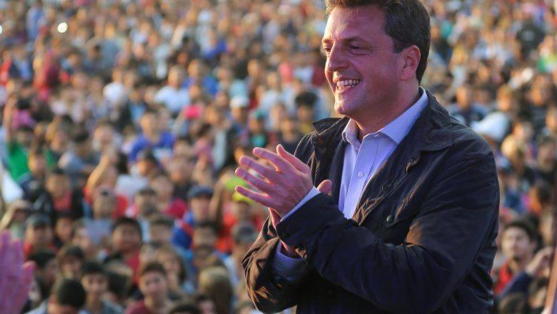 Miralo en vivo: Sergio Massa cierra el congreso del Frente Renovador en Parque Norte