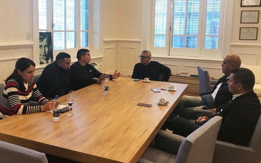 El intendente de Tigre se reunió con trabajadores de Sancor y La Serenísima para expresarles su apoyo