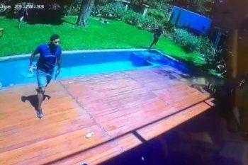 Violento robo en una quinta y otra vez un niño en el medio