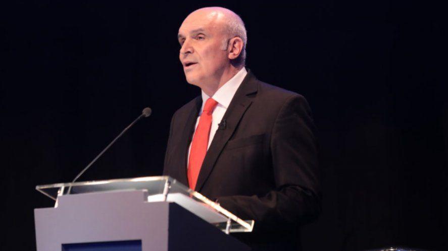 José Luis Espert fue el candidato a presidente del liberalismo en 2019. Superó las PASO pero sacó el 1