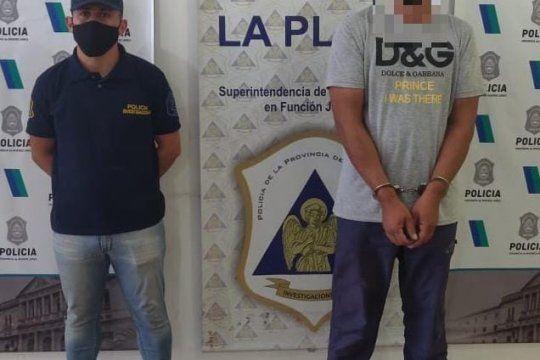 El hombre de 40 años fue detenido en 7 entre 56 y 57, en La Plata