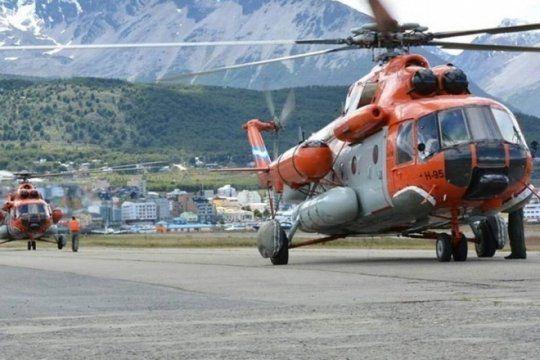 rescataron a la comitiva presidencial tras aterrizaje de emergencia del helicoptero que la trasladaba