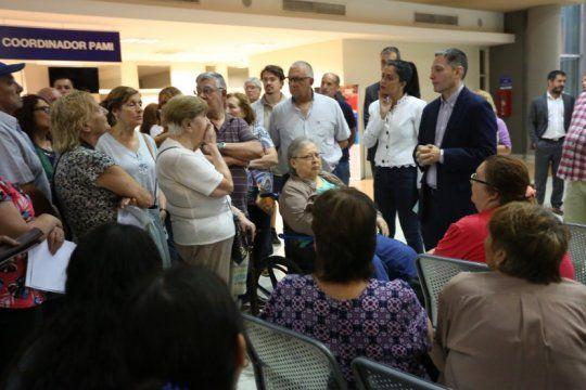 volnovich prometio recuperar con el pami el hospital del bicentenario de esteban echeverria