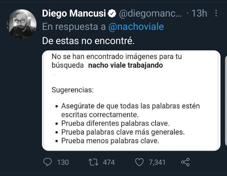 En Twitter no tuvieron piedad con Nacho Viale por haber querido hacerle Bullying al Presidente Fernández, sin saber que cometía un papelón con el tema vacunas por no haberse informado