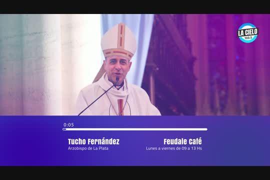 Victor Tucho Fernández, arzobispo de La Plata, en diálogo con LA CIELO