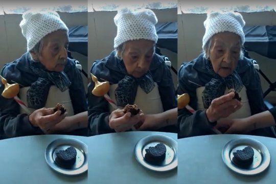 Isabel Gullon tiene 102 años y superó el coronavirus