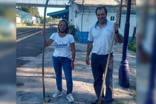 castelli: por primera vez una mujer guardabarrera custodiara las vias