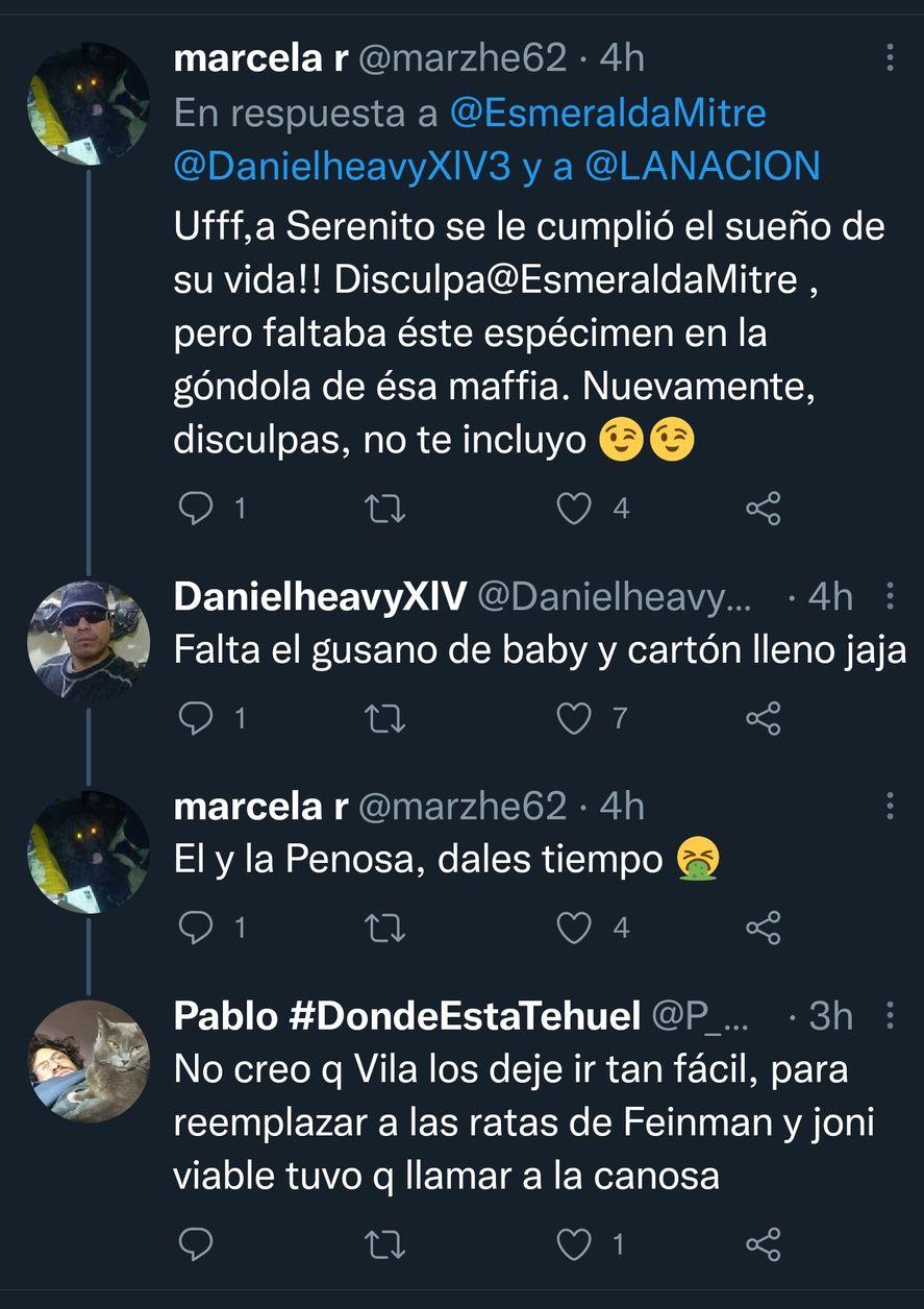 """Algunos fanáticos y otros críticos piden al unísono a Baby Etchecopar en """"La Nación más"""", mientras Esmeralda Mitre se queja por la contratación de otro periodista"""