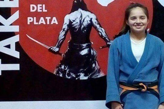 mar del plata se encolumna detras de el sueno de una joven judoca