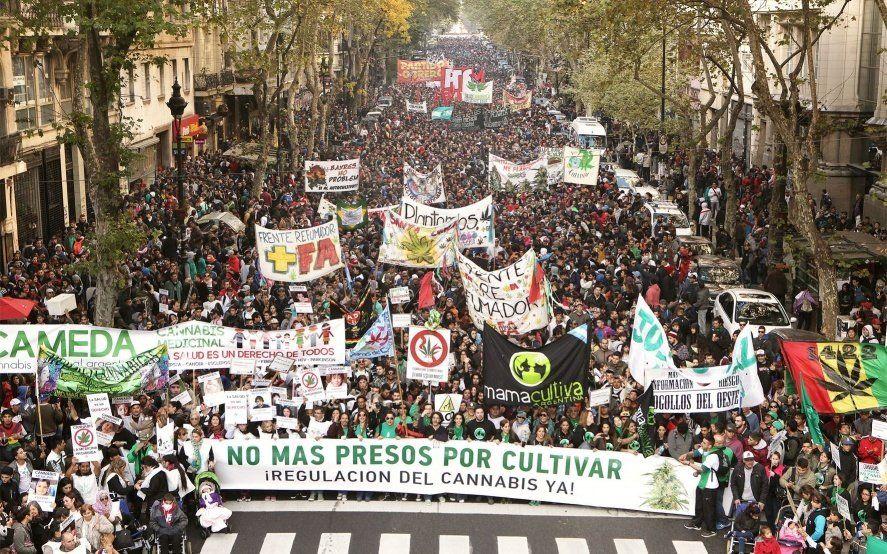 El mapa de la marcha cannábica: los puntos de encuentro para pedir la legalización de la marihuana