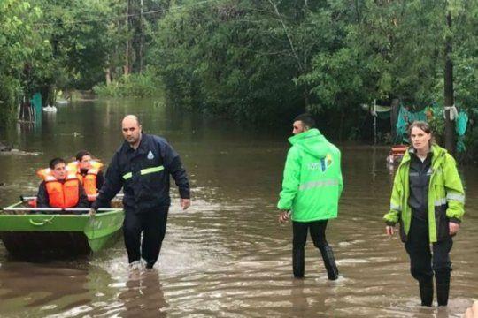 asi esta la situacion de los evacuados en toda la provincia, despues del temporal