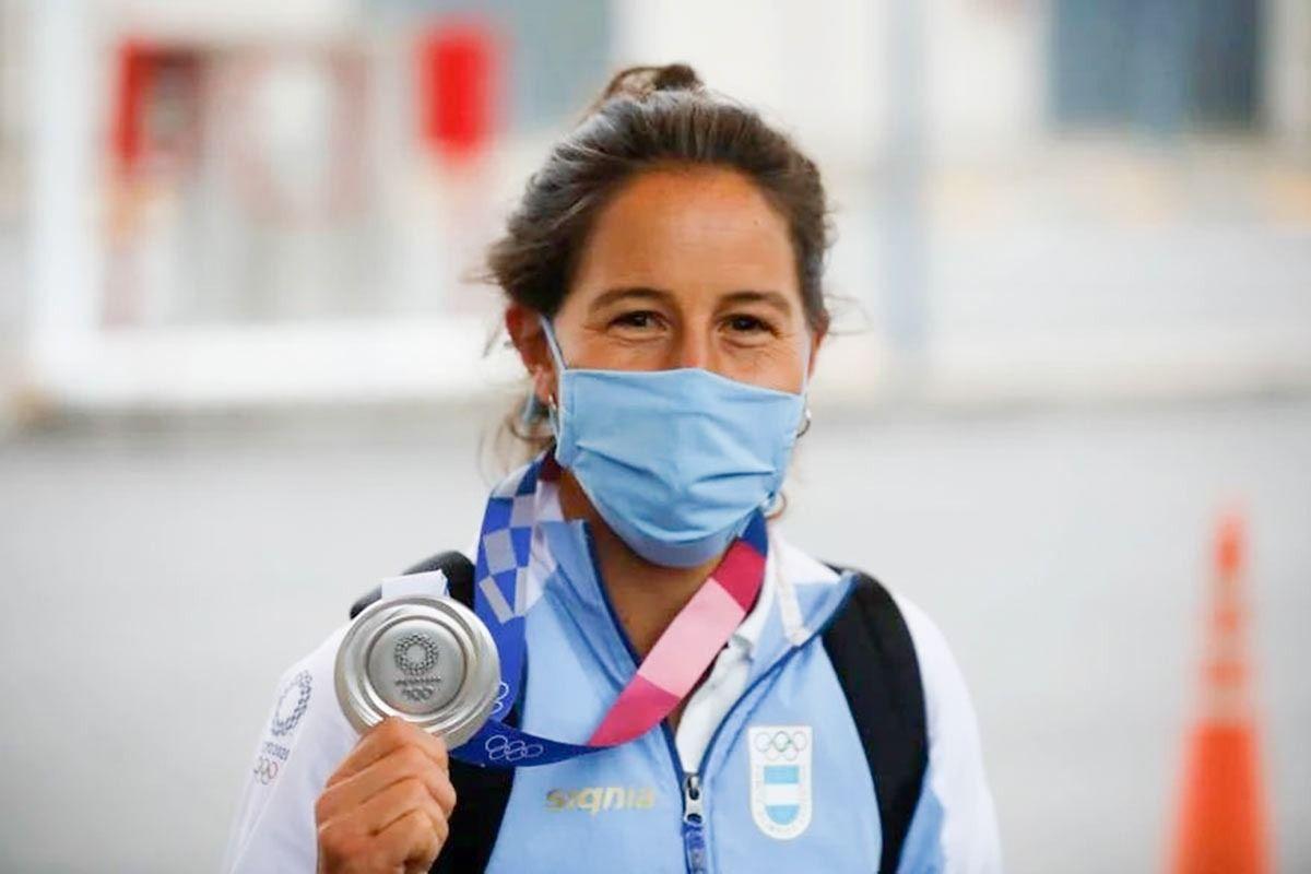 Sofía Maccari expresó su dolor por el robo de la medalla de plata