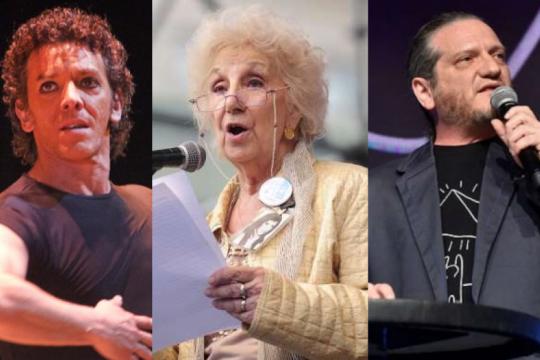maximiliano guerra, estela de carlotto y dario sztajnszrajber suman su apoyo al rescate del teatro argentino