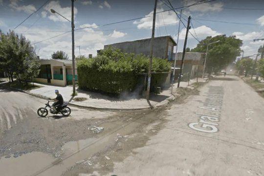 En este lugar de Moreno el bombero resistió el robo con su arma reglamentaria