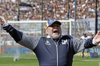 Maradona: ¿Qué regalo me gustaría tener? Que mi Gimnasia vuelva a ser campeón