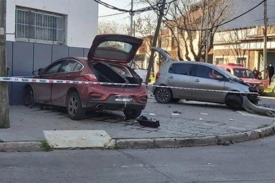 perseguia al motochorro que le robo un celular y mato a un automovilista