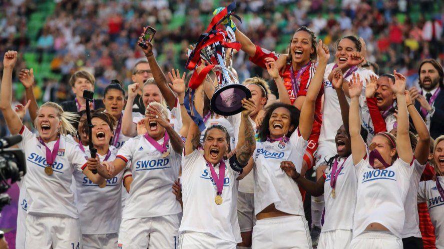 Lyon, pentacampeón defensor de la Champions League de fútbol femenino, quedó eliminado en Cuartos en la edición 2020/21.