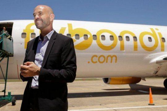 pichetto apunto contra dietrich por el aeropuerto de el palomar tras una controvertida publicidad de flybondi