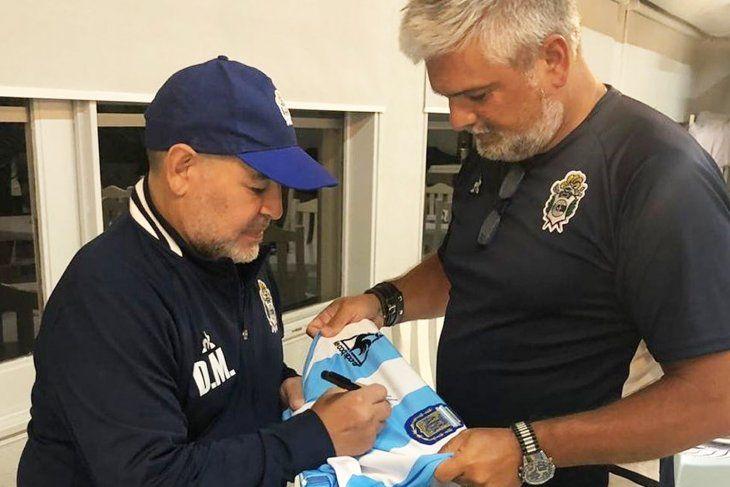 Murúa y el recuerdo de Maradona: Era el defensor de todos