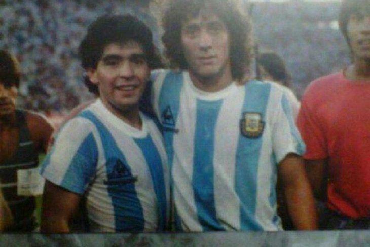 Pedro Troglio y la imagen que eligió para siempre con Diego Maradona