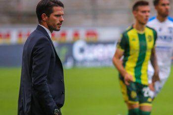 Fernando Gago lleva tres partidos en Aldosivi.