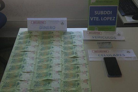 Cayó un hombre de 37 años por un secuestro virtual cometido en Olivos