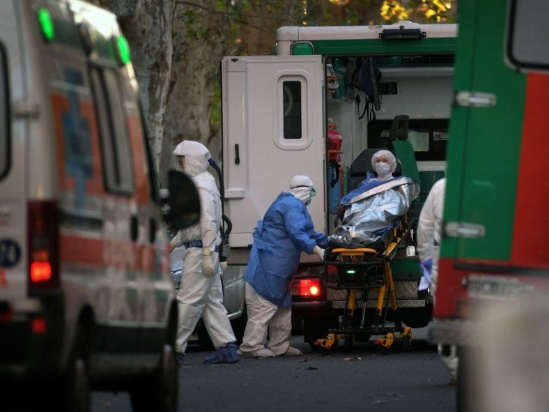 Los casos de coronavirus en Argentina superaron el récord absoluto por segundo día consecutivo.