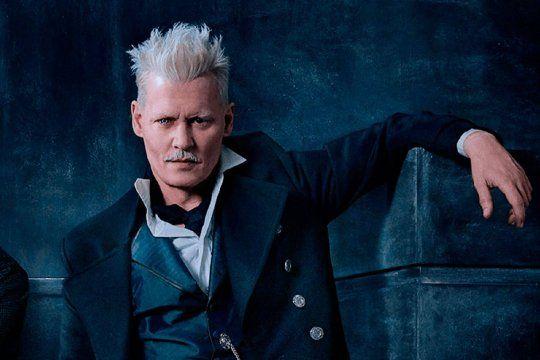 El actor Johnny Depp ya no interpretará al mago oscuro Gellert Grindelwald