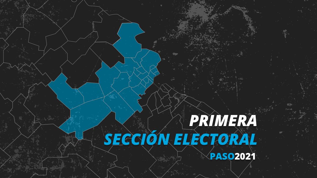 La primera sección electoral fue para el frente de Todos en las elecciones PASO 2021.
