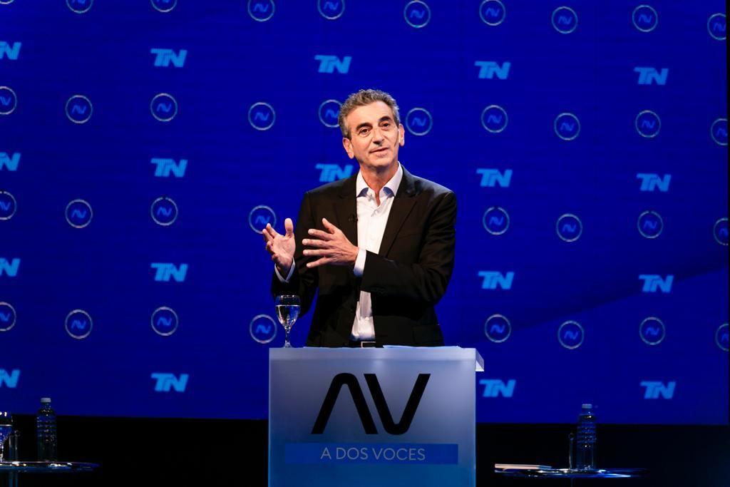 Elecciones: Florencio Randazzo durante el debate