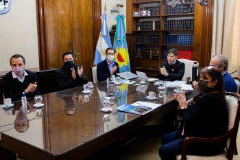Kicillof y su gabinete encabezaron la presentación de las obras del FIM 2021.