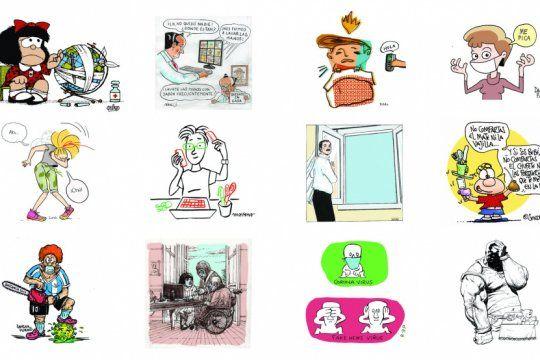 ilustradores se juntan para concientizar sobre el coronavirus