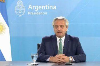 El presidente Alberto Fernández participó este miércoles de la apertura del Foro Generación Igualdad 2021