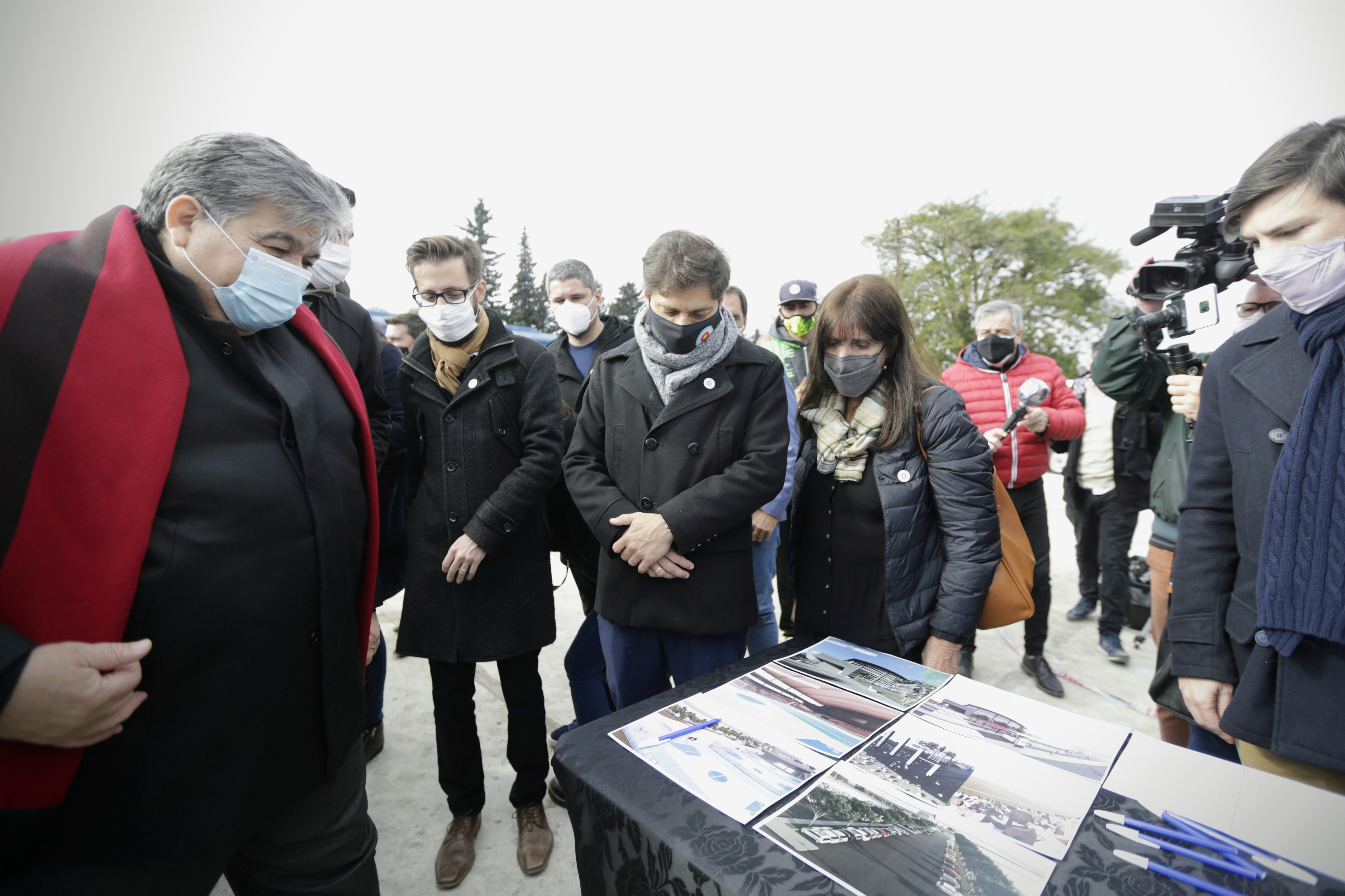 José C. Paz: Kicillof inauguró obras junto a Mario Ishii