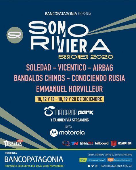 Vicentico suspendió su recital que daría esta noche en el festival Sonoriviera