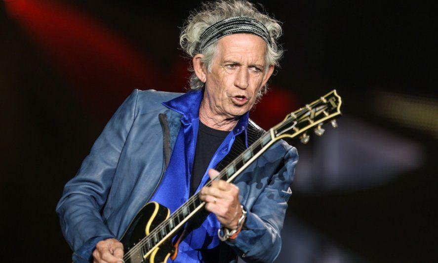 Keith Richards cumple 77 años de puro rock