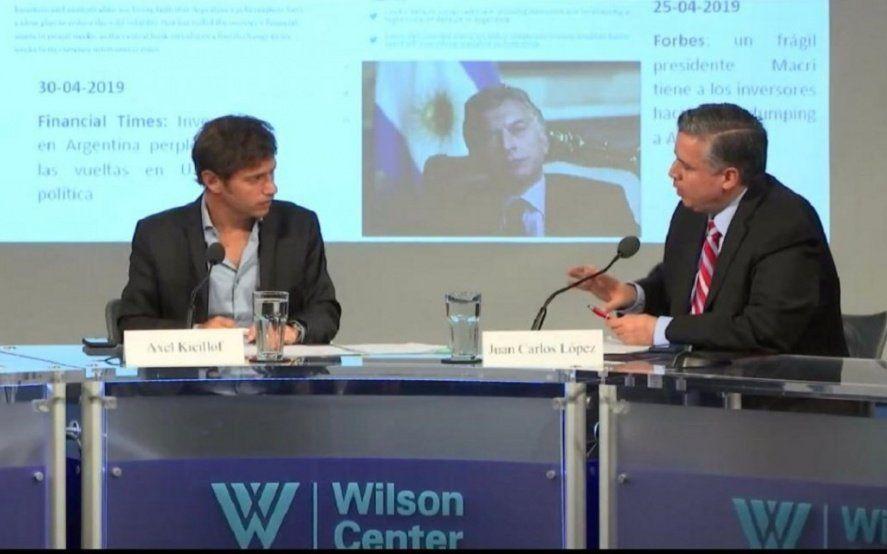 """Kicillof también quiere calmar a los mercados: """"Nadie puede querer un default"""""""