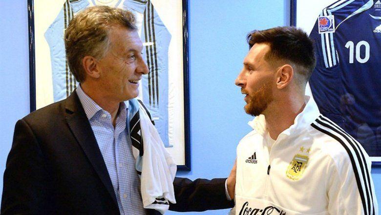 Macri le agradeció a la Selección Argentina a pesar de la eliminación del Mundial