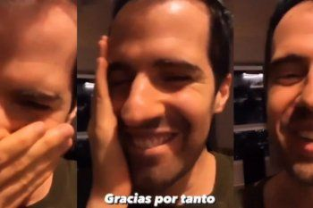 Martín Cirio reapareció luego de semanas ausente en las redes sociales