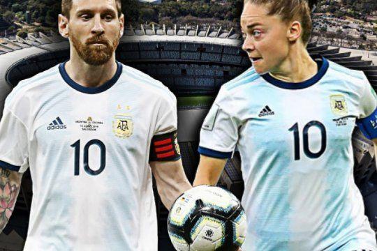 dos equipos, la misma seleccion y un unico objetivo: ganar