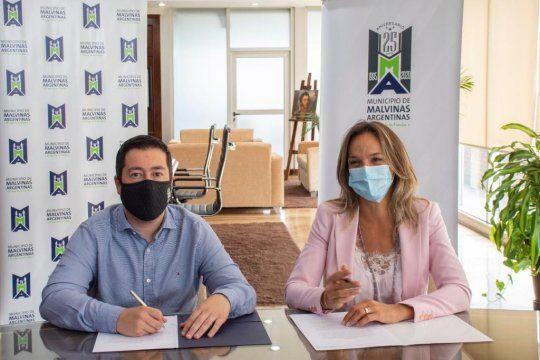 Galmarini y Nardini a punto de inaugurar una obra para 230 mil vecinos