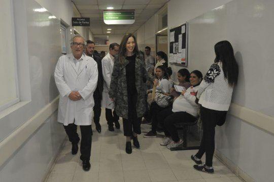 junto a granados, la gobernadora vidal visito cuatro centros de salud en ezeiza